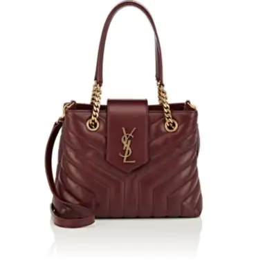 c804b8b21d0 Saint Laurent Monogram Ysl Loulou Small Quilted Leather Tote Bag - Lt. Bronze  Hardware In