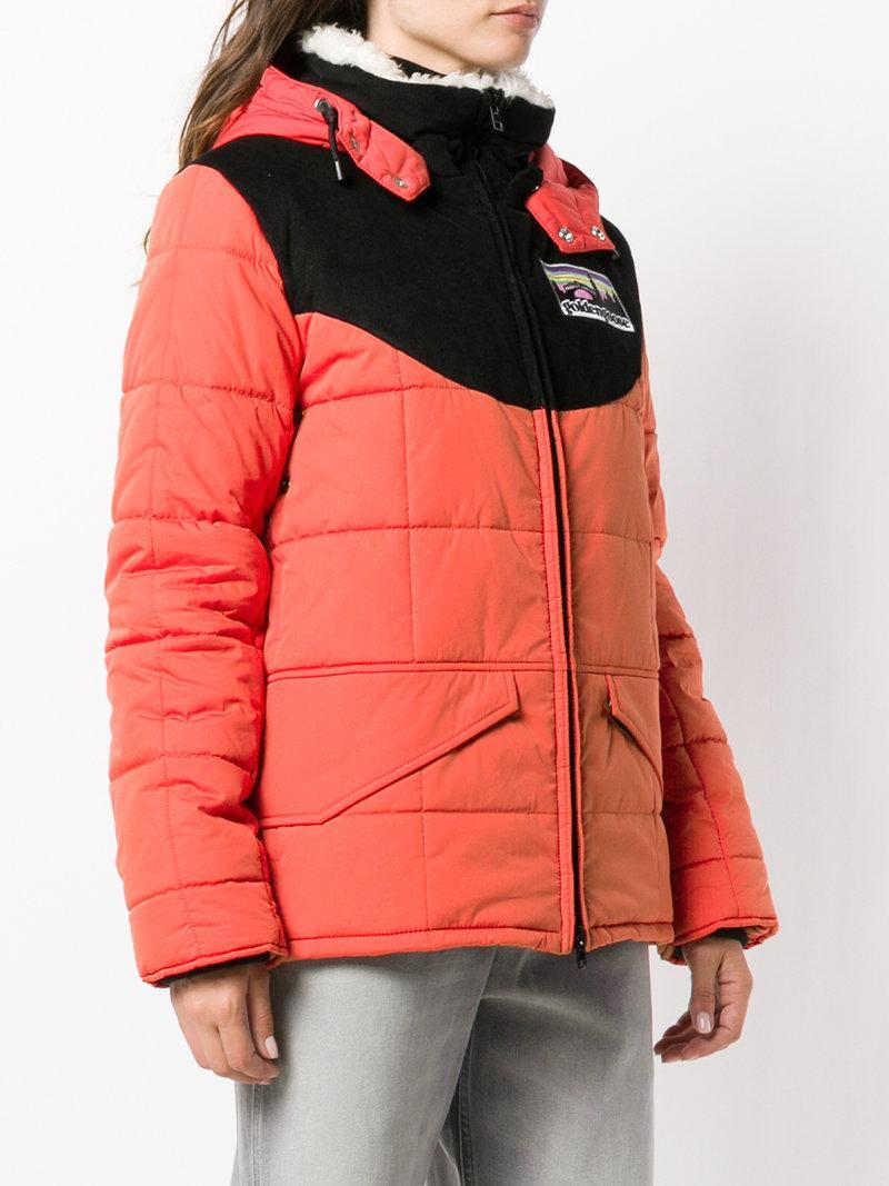 da87d1af996c Golden Goose Agena Faux Shearling-Trimmed Quilted Shell Jacket In ...
