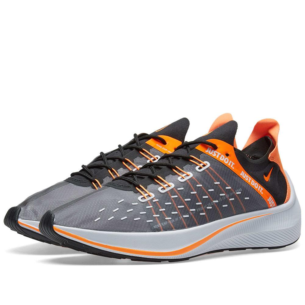 brand new 072d1 ee4cd Nike Men s Exp-X14 Se Just Do It Casual Sneakers From Finish Line In Black