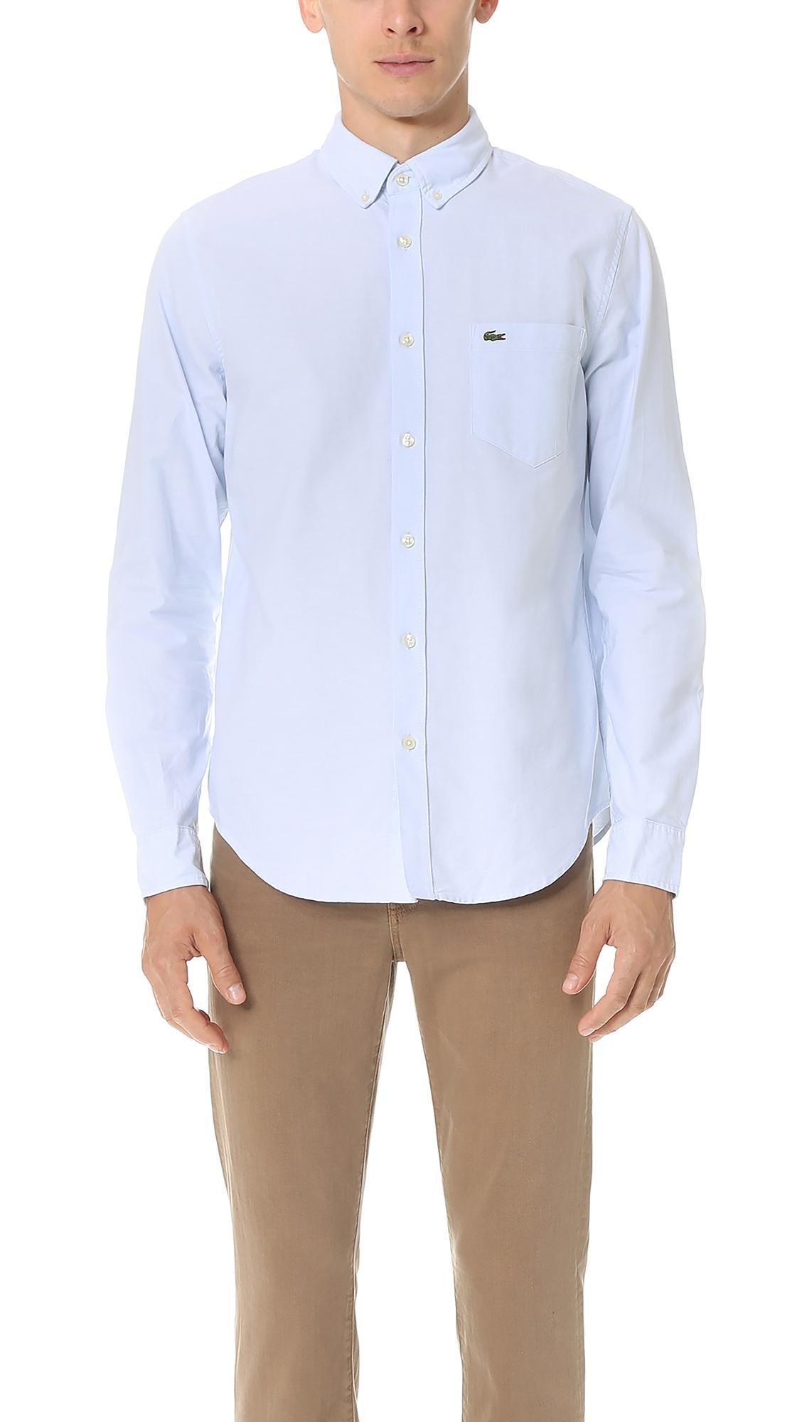 b9cf118e Button Down Oxford Shirt in Hemisphere