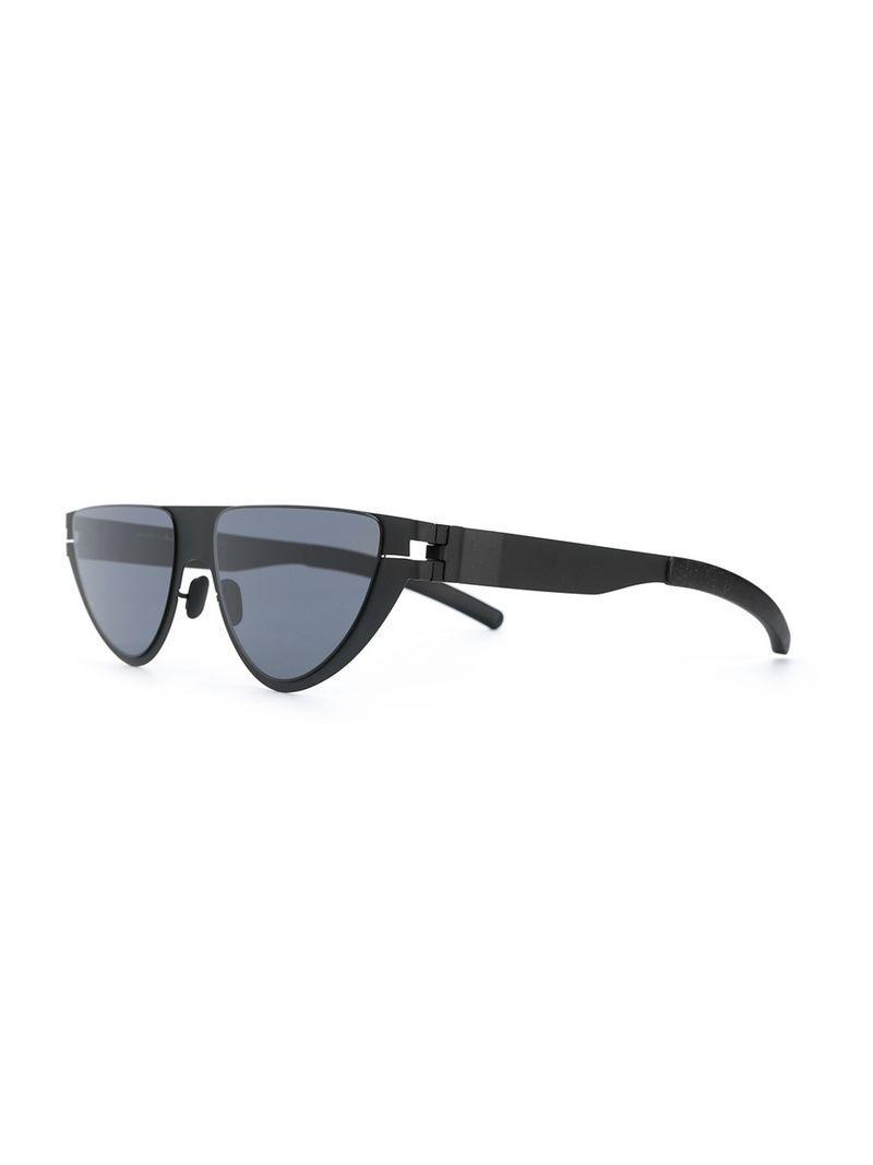 3d1e5dd2769 Martine Rose Mykita Mykita X Cat Eye Frame Sunglasses - Black