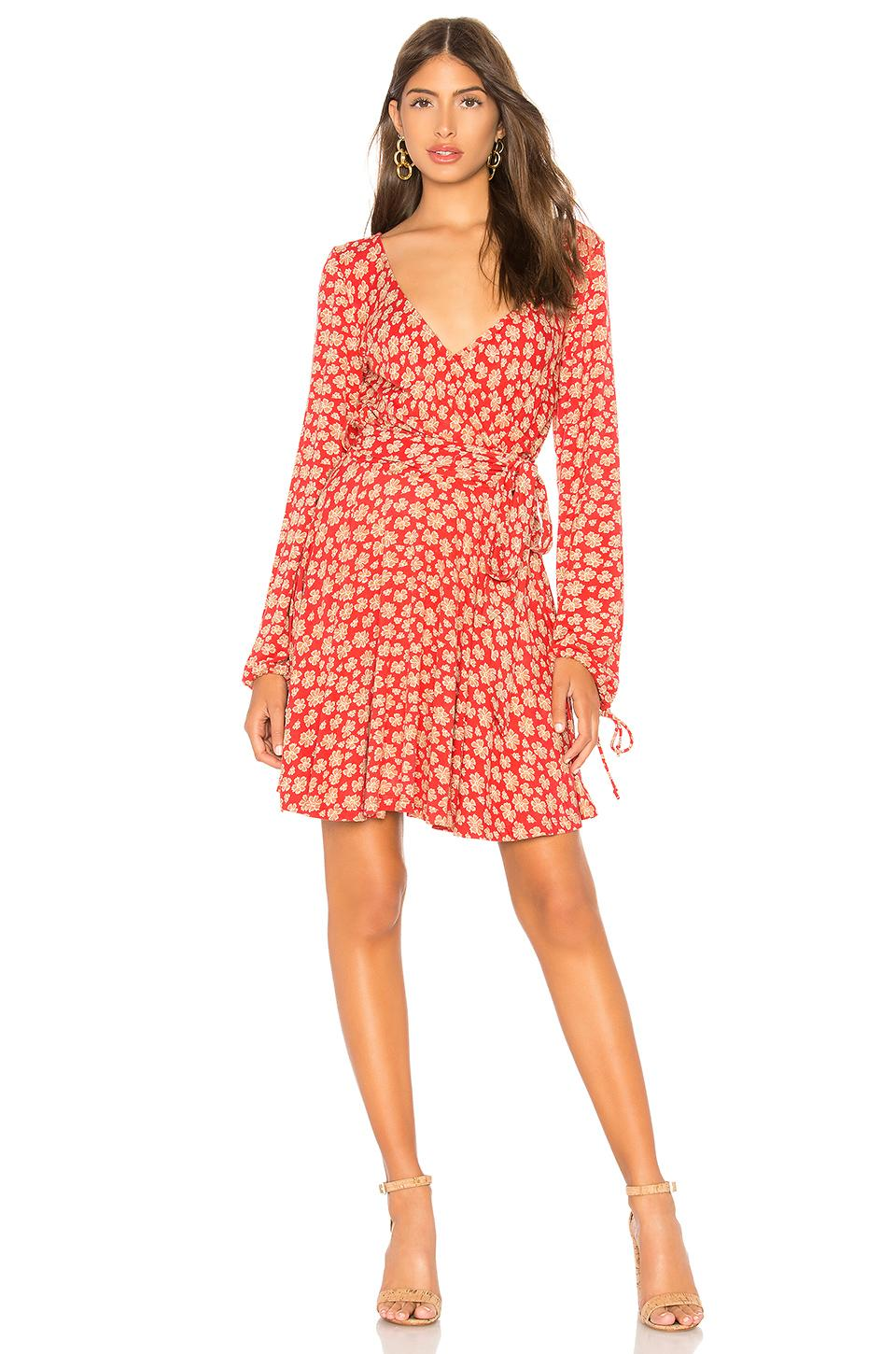 75d05848ced1 Free People Pradera Floral Minidress In Red | ModeSens
