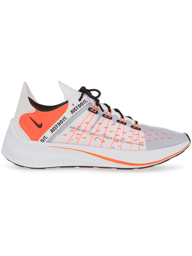 1670aad759e Nike Men s Exp-X14 Se Just Do It Casual Sneakers From Finish Line In White