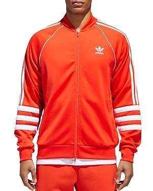 7026e11a1a8b Adidas Originals Authentics Windbreaker Track Jacket In Hi-Res Red  White