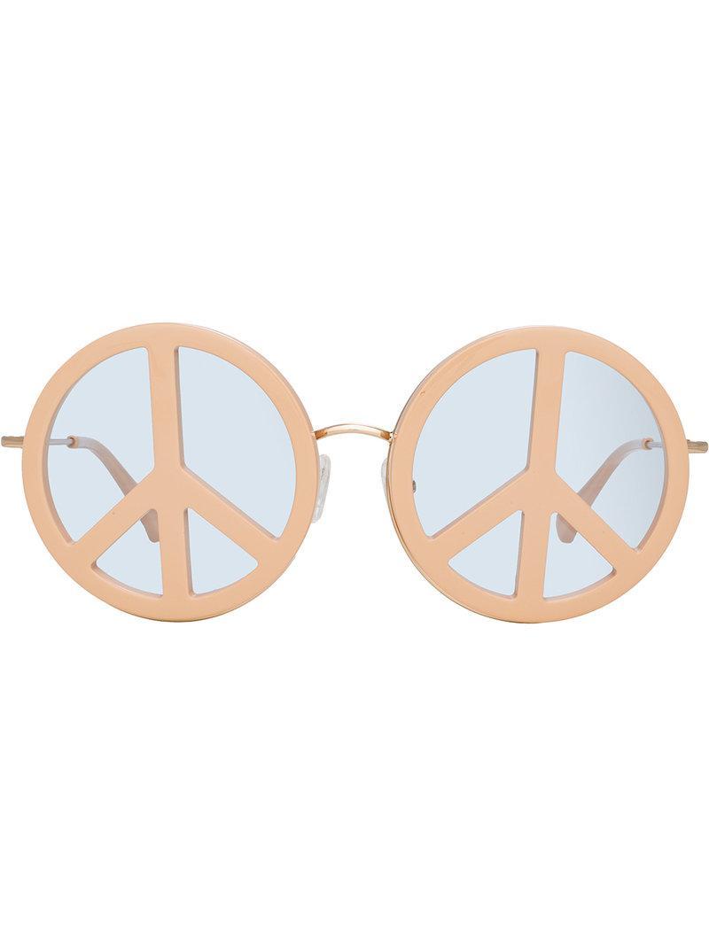 752b16b58b Linda Farrow Yazbukey 8 C3 Special Sunglasses - Neutrals