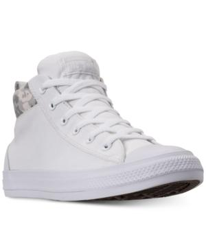 13503c11ff7d5e Converse Men s Chuck Taylor All Star Street Mid Combat Zone Casual Sneakers  From Finish Line In