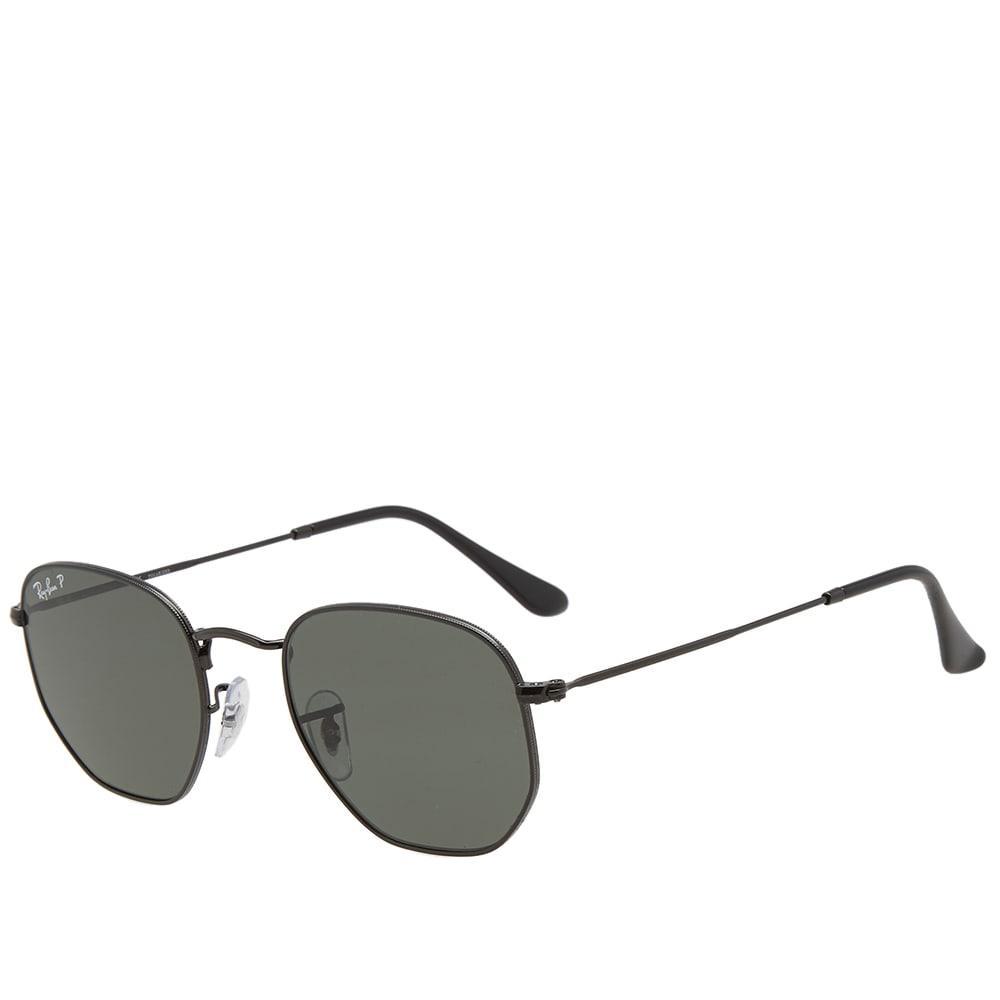 e282a4c306d43 Ray Ban Hexagonal Sunglasses In Black