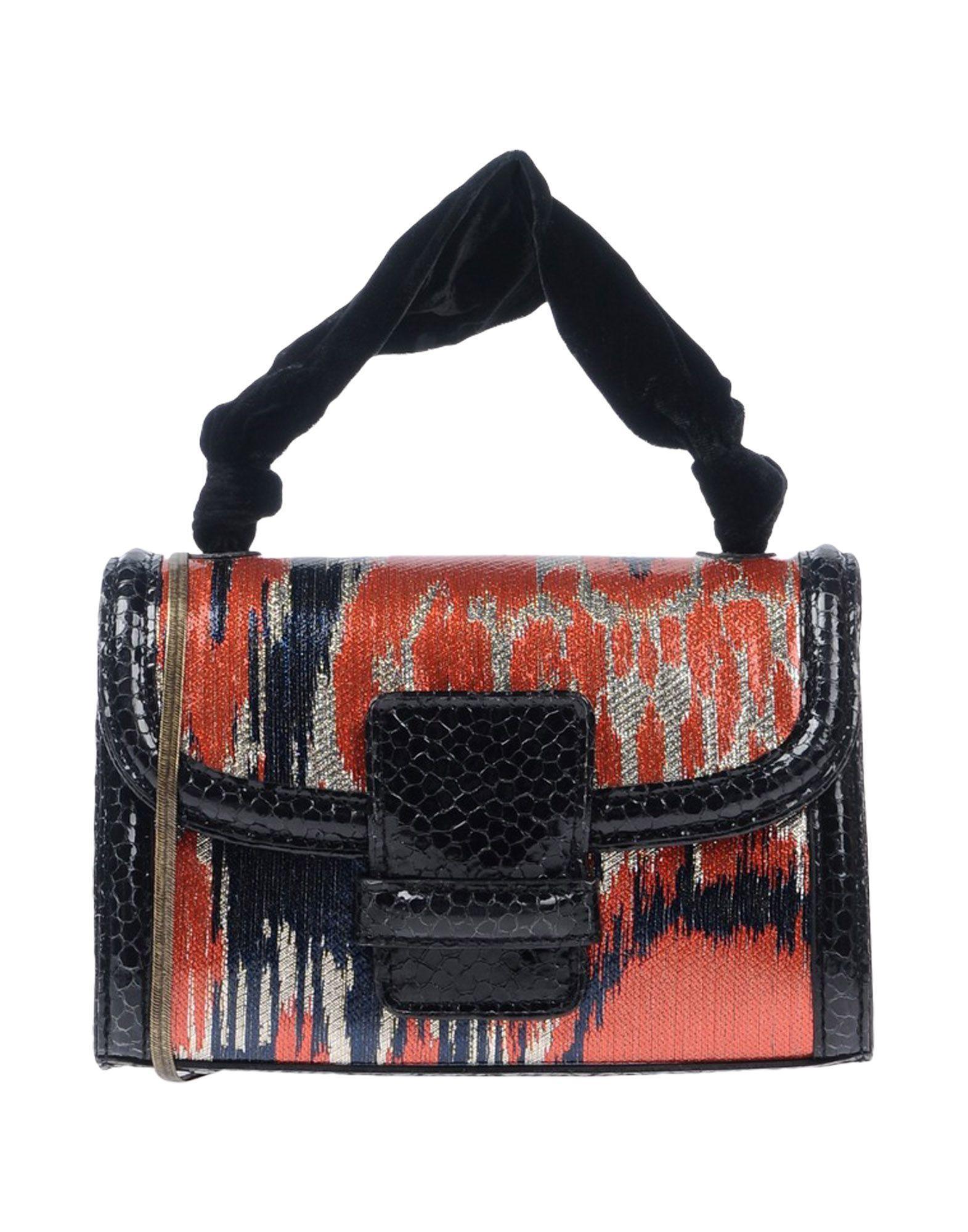 Dries Van Noten Handbag In Black Modesens