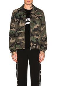08fc94507dc36 Valentino Camouflage-Print Windbreaker Jacket In Green | ModeSens