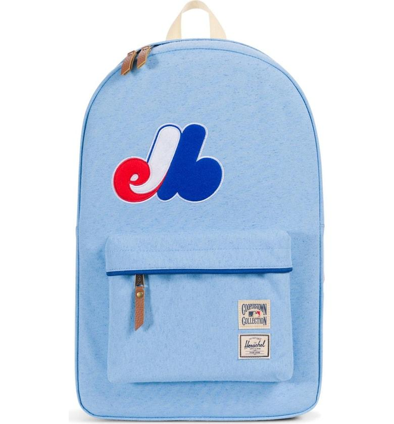 7fd97b38b69 Herschel Supply Co. Heritage - Mlb Cooperstown Collection Backpack In  Montreal Expos