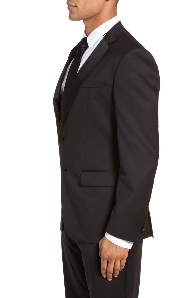 3671eda56 Hugo Boss Hence Cyl Slim Fit Wool Dinner Jacket In Black   ModeSens