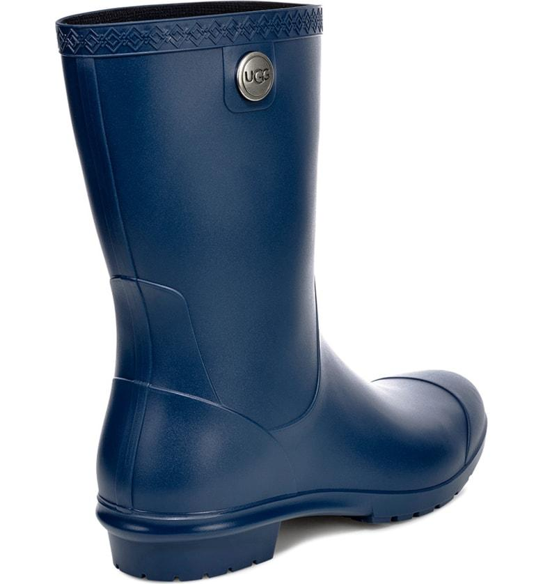 805d0ad51cf Ugg Sienna Rain Boot in Blue Jay Rubber