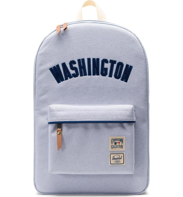 a906419cf12 Herschel Supply Co. Heritage - Mlb Cooperstown Collection Backpack In  Washington Nationals