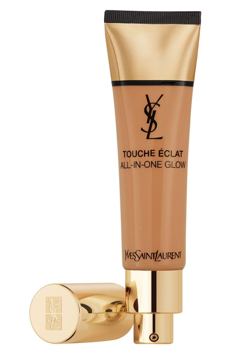 SAINT LAURENT TOUCHE ECLAT ALL-IN-ONE GLOW TINTED MOISTURIZER SPF 23 - B70 MOCHA,L7784400