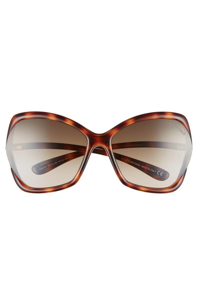 1296d0862e8d TOM FORD. Women s Astrid Oversized Square Sunglasses