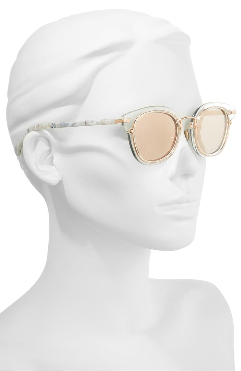 2e850d498b2 Dior Origins 1 53Mm Round Sunglasses - Crystal