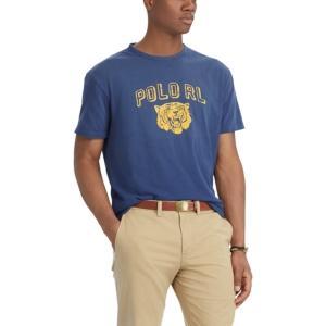 Polo Ralph Lauren Mens Cotton Classic Fit Graphic T-Shirt