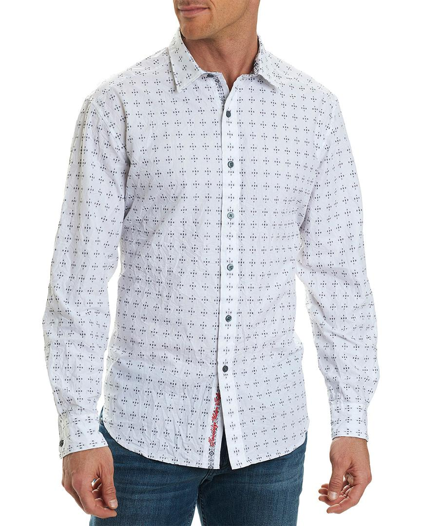 Robert Graham Mens Steger Classic Fit Sport Shirt