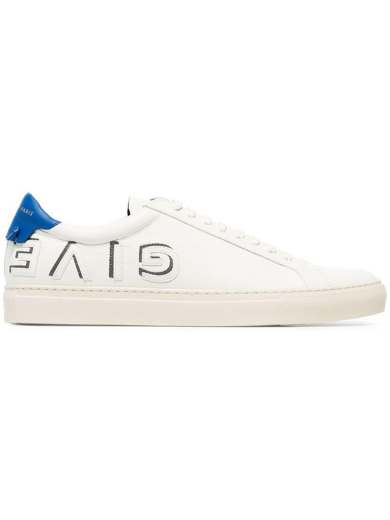 uk availability 66a05 b5dac Givenchy Men s Urban Street Low-Top Logo Letter Sneakers In White