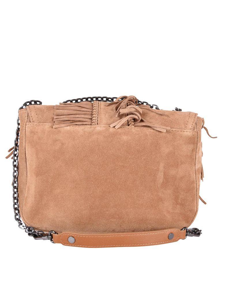 Amazone Folk Shoulder Bag In Natural