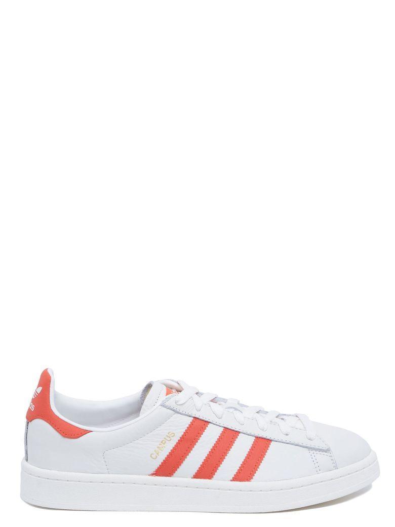 f33d0284fba126 Adidas Originals  Campus  Shoes In White