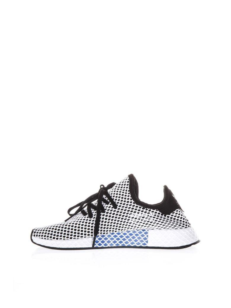 differently fd2ac 46910 Adidas Originals Sneakers Adidas Deerupt Runner Sneakers In Knit And Mesh  Stretch Net Effect In Nero