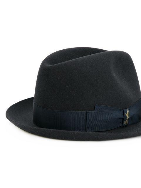 096924e9e Borsalino Felt Trilby Hat - Blue