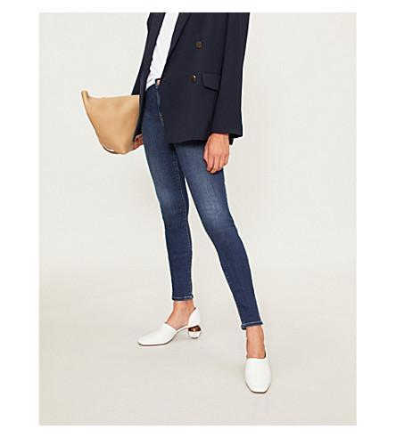 6e81364b3079da J Brand Maria High-Rise Skinny Jeans In Fleeting | ModeSens