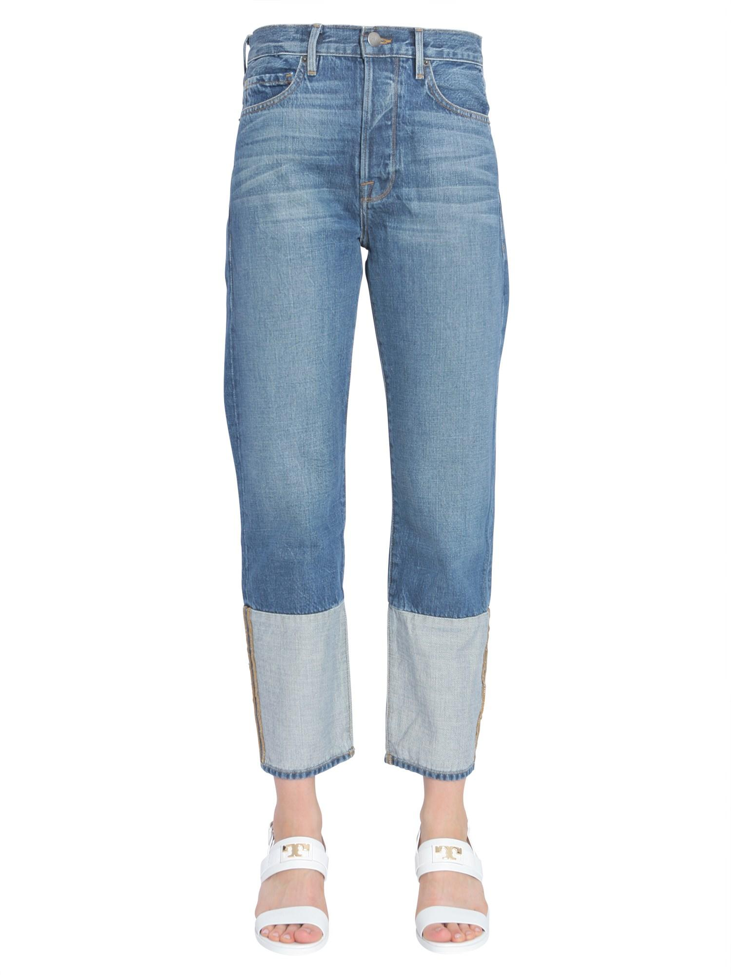 32ab26dc27be Frame Le Original Reverse Jeans In Blue | ModeSens