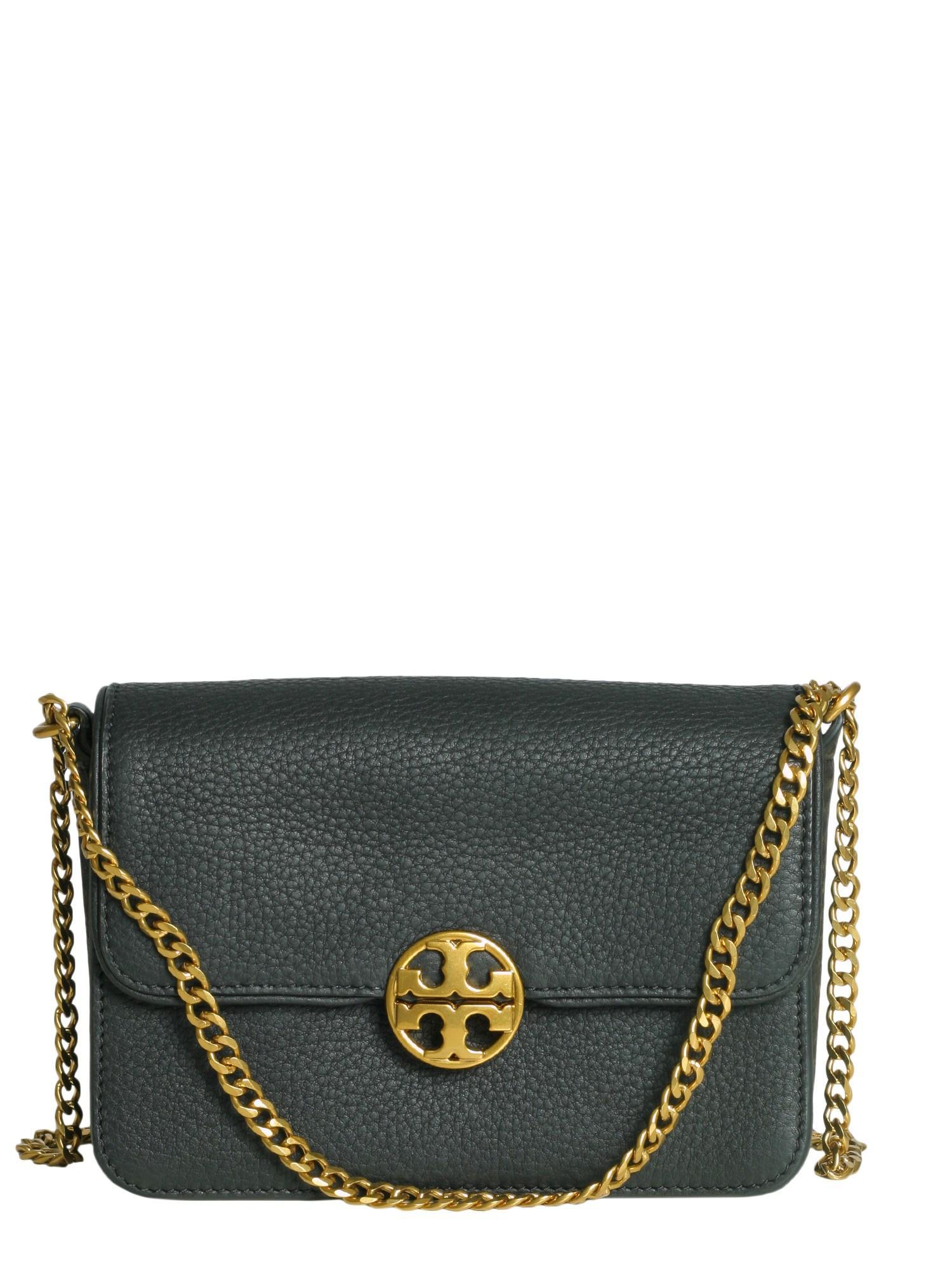 babaa5f7826 Tory Burch Chelsea Crossbody Bag In Black