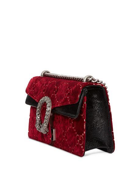 7b4f9c0ad57436 Gucci Dionysus Small Velvet Gg Supreme Shoulder Bag In Multi   ModeSens
