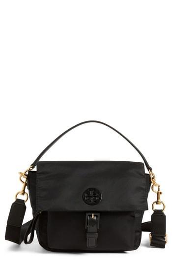 991605f865c Tory Burch Tilda Nylon Crossbody Bag - Black
