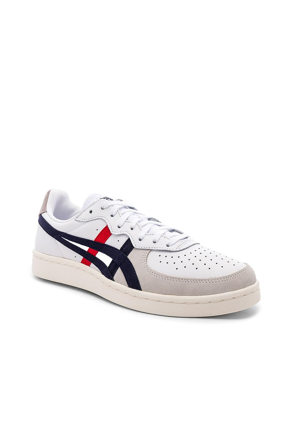 new style d8296 924a7 Onitsuka Tiger Gsm In White. in White & Peacoat