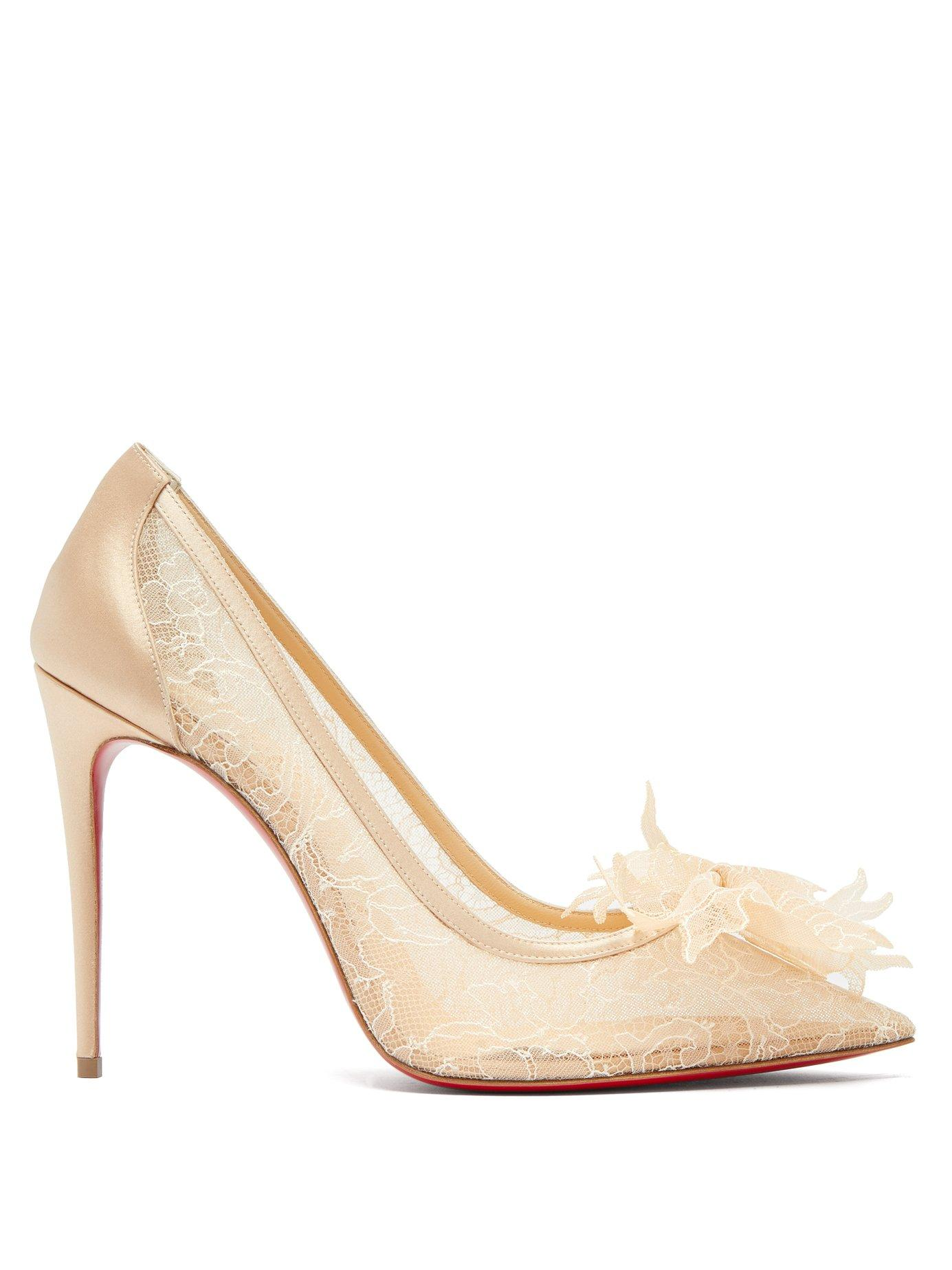 huge selection of fcdfc b8b47 Delicatissima 100 Lace Pumps in Nude
