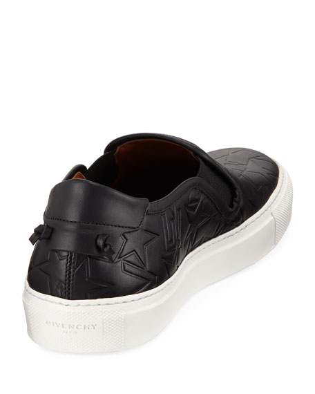 Givenchy Women's Be08782141001 Black Leather Slip On Sneakers