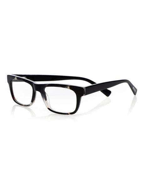 53e0b86fc13 Eyebobs Style Guy Rectangle Acetate Reading Glasses In Black