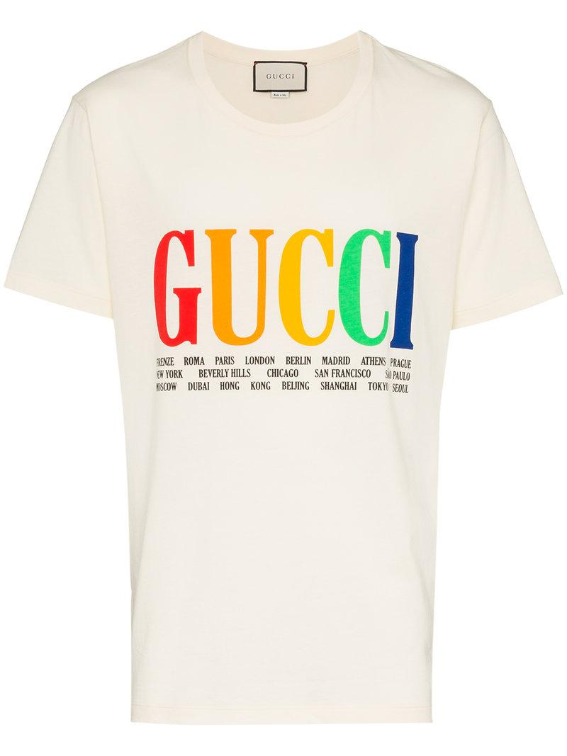 a491e1ac18a Gucci Oversized Snake-Embroidered Cotton And Linen-Blend T-Shirt In Neutrals