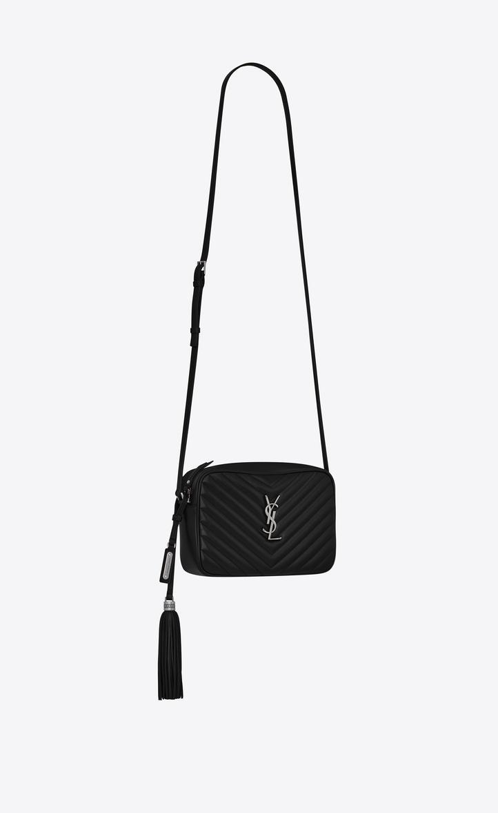 718d206be5 Lou Camera Bag In Matelassé Leather in 1000 Nero