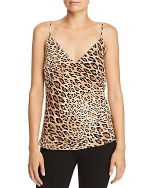 938f3f393dd87a Frame V-Neck Cheetah-Print Silk Cami Top In Camel Multi | ModeSens