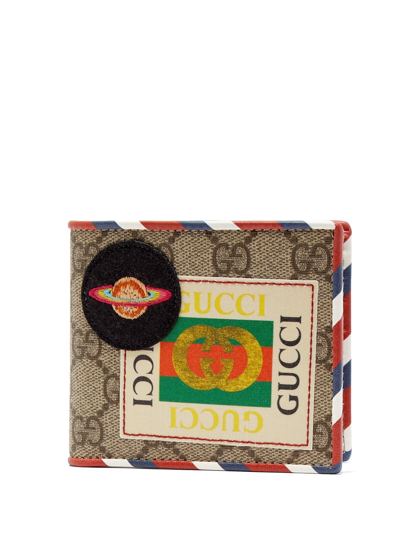 268756e687ad Gucci Beige Courrier Gg Supreme Canvas Wallet - Farfetch In 8899 Beige
