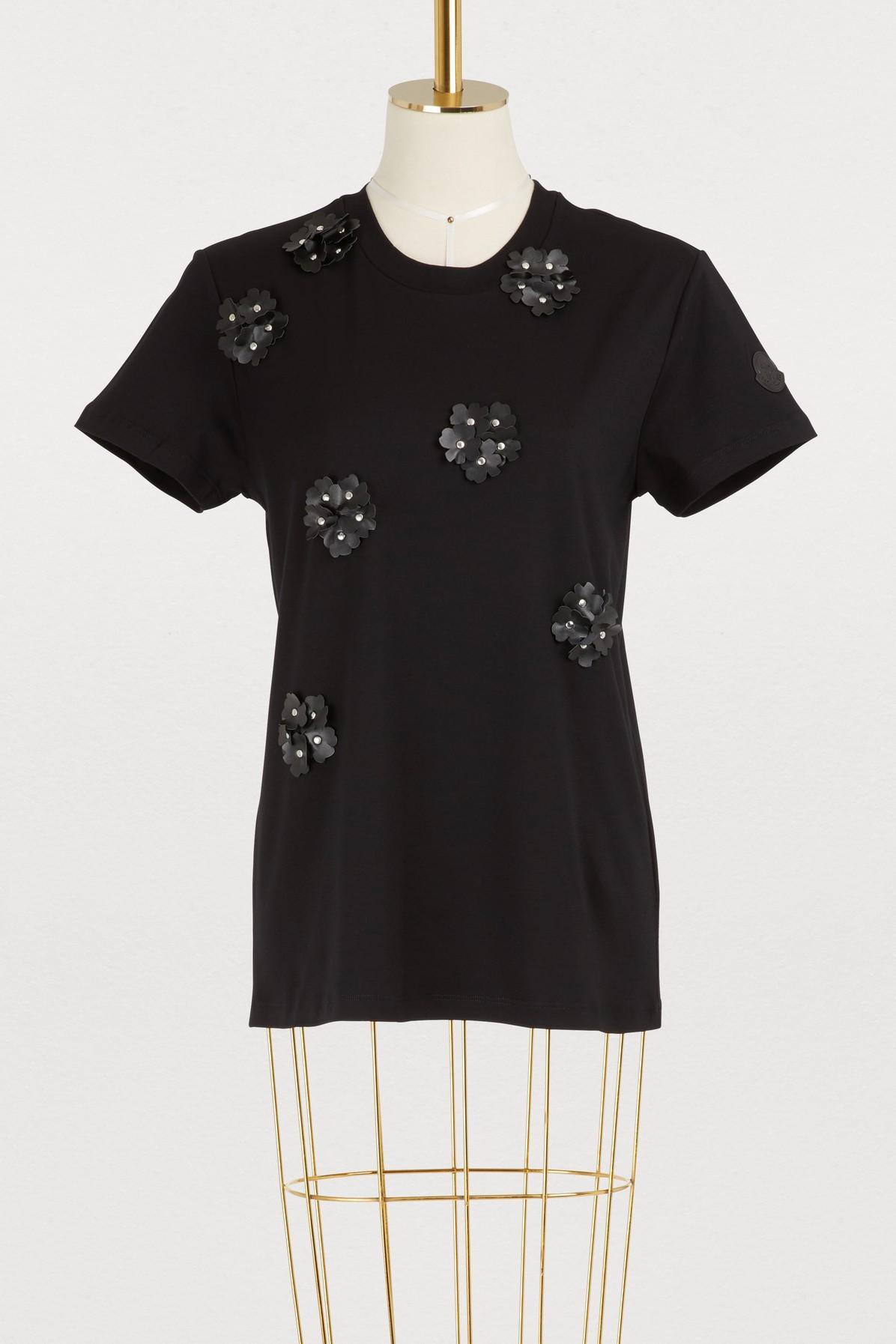 c908d460d 6 Moncler Noir Kei Ninomiya T-Shirt in 999-Black
