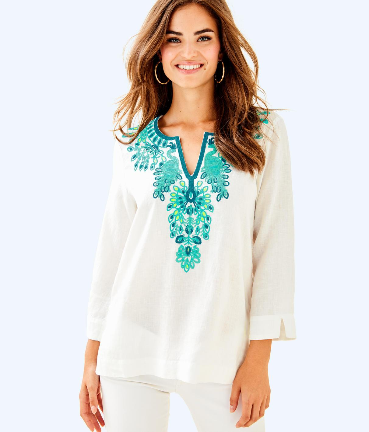 9c5ae3290976f2 Lilly Pulitzer Amelia Island Tunic In Coconut | ModeSens
