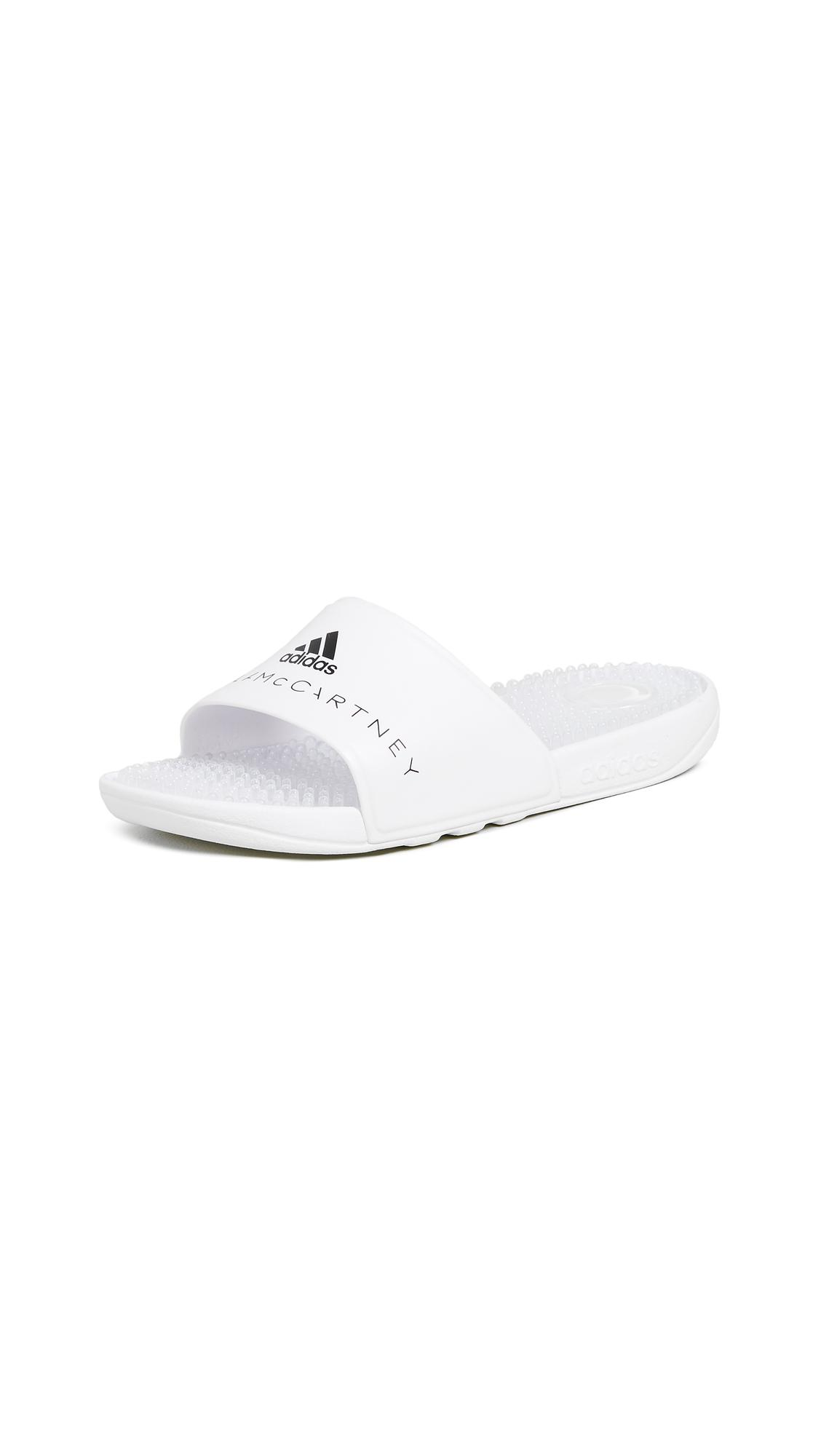 d45d17b48057 Adidas By Stella Mccartney Adissage W Slides In White White Core Black