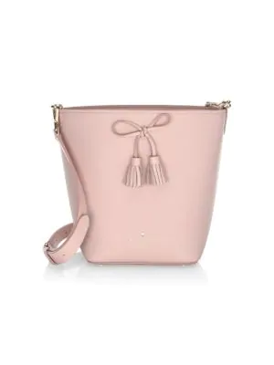 bf0657bc0062 Kate Spade Hayes Street - Vanessa Leather Shoulder Bag - Pink In Warm Vellum