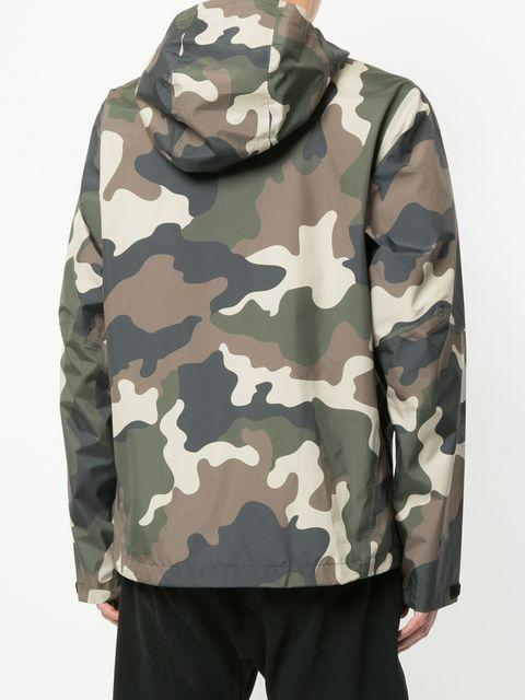 a0c414eaf862a The Upside All-Weather Waterproof Hooded Camo-Print Jacket In Multicolour