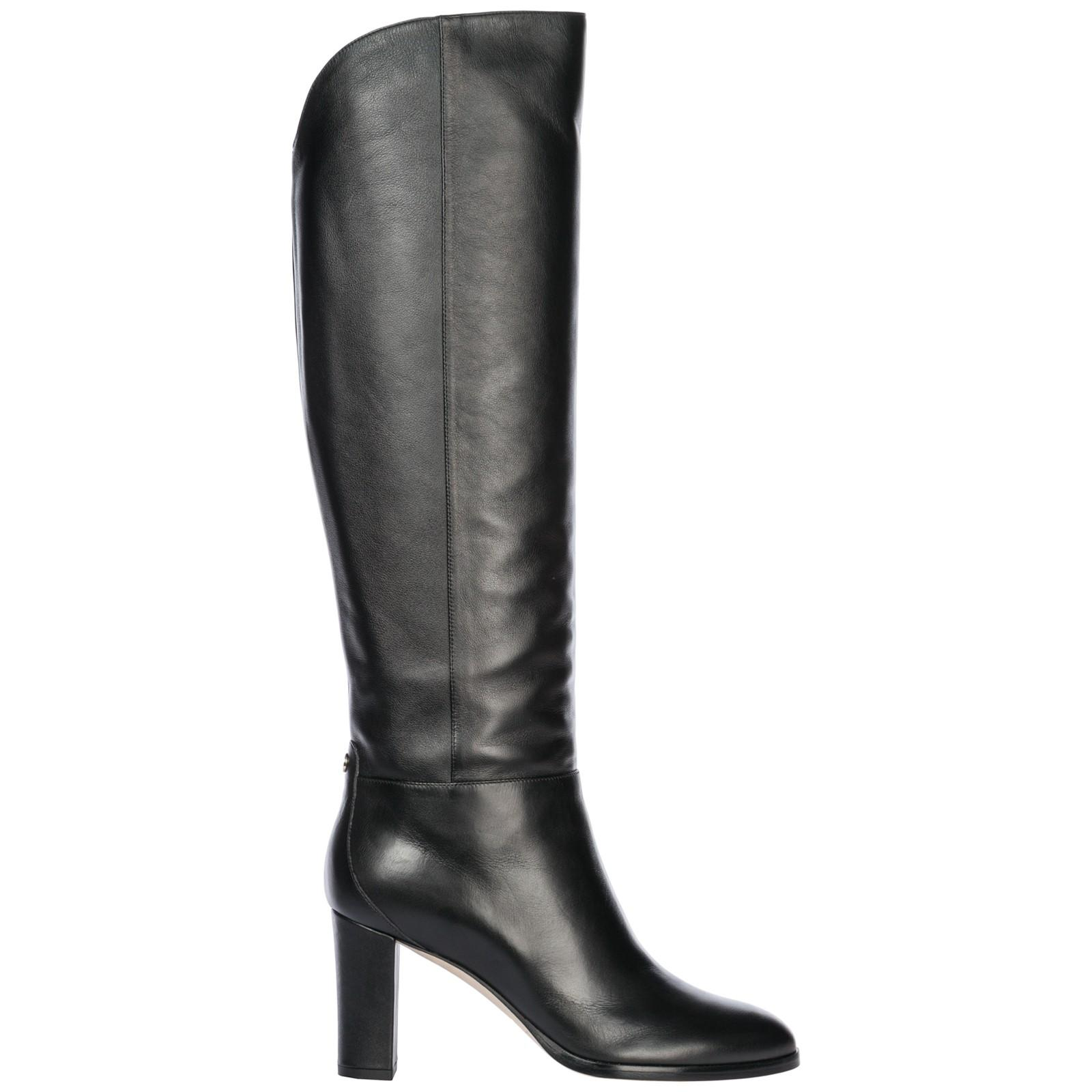 e7410e79a1d Jimmy Choo Women s Madalie 80 High Block-Heel Boots In Black