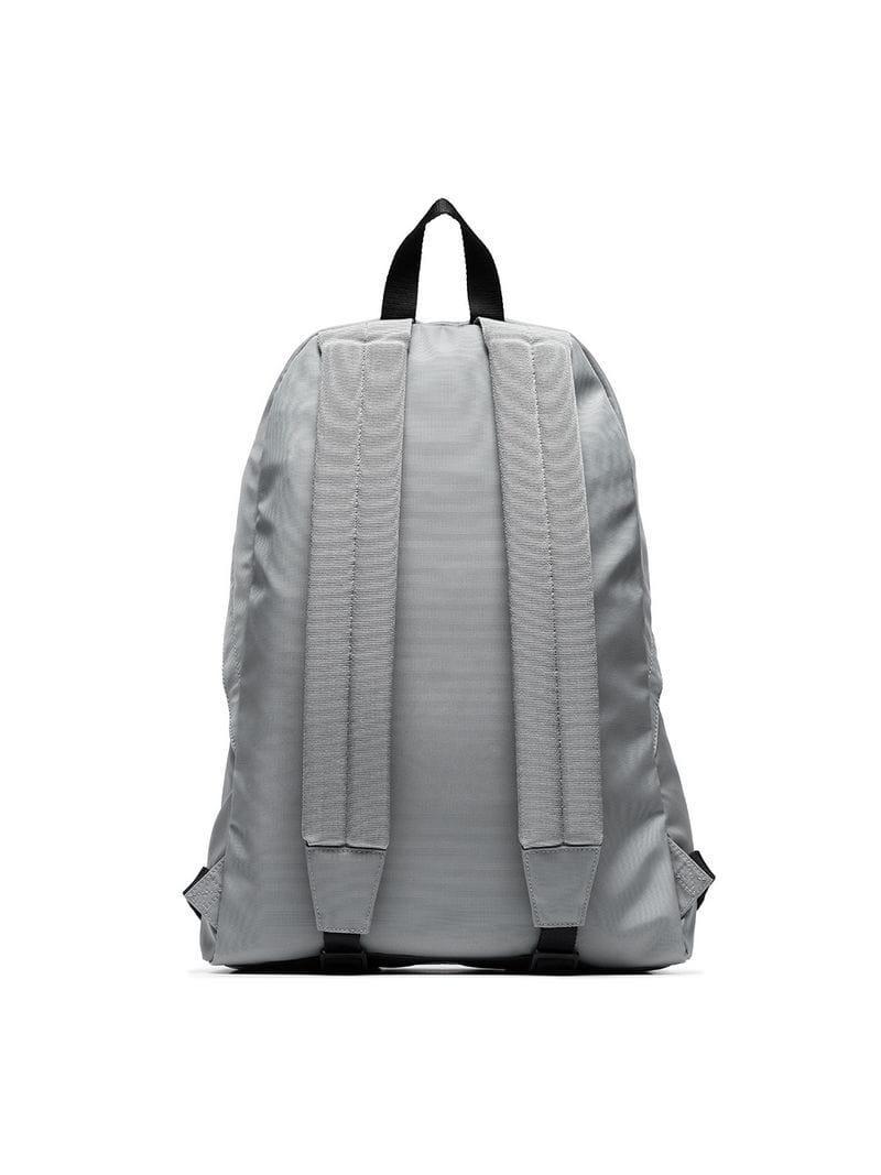 36d0a9c9b577 Balenciaga Men S Wheel Logo-Print Backpack In Grey