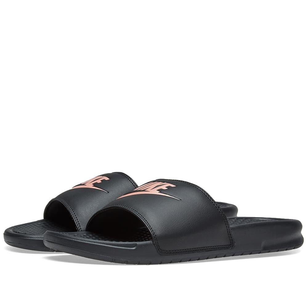 f37004de2a76f Nike Women s Benassi Jdi Swoosh Slide Sandals