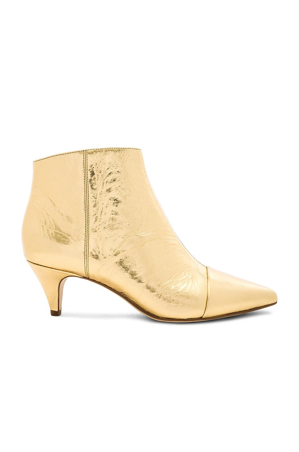 739ec1a97549e Sam Edelman Kinzey Boot In Metallic Gold