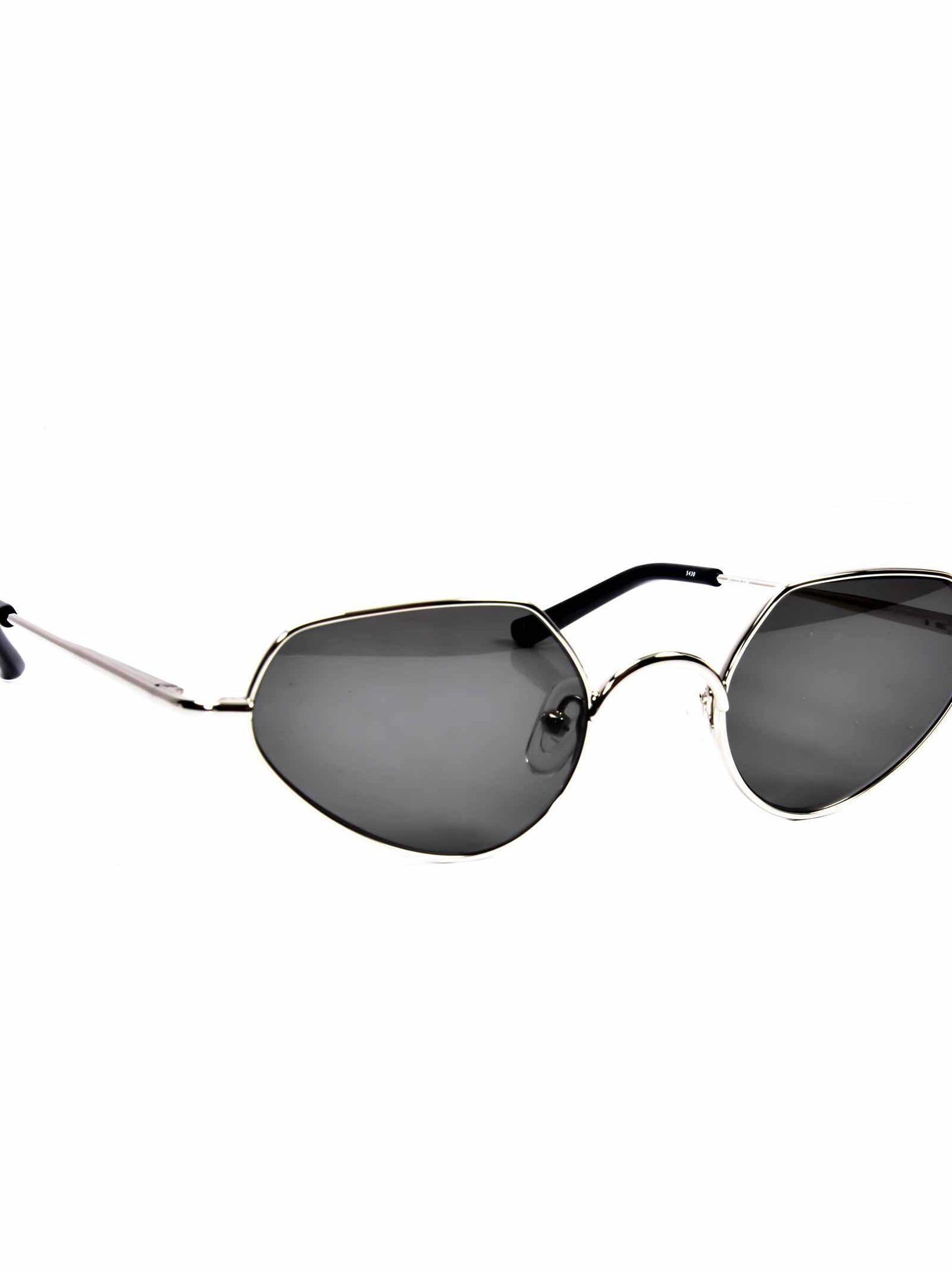 73a6ef14a0d8 Linda Farrow Dries Van Noten Sunglasses In Csilver Black